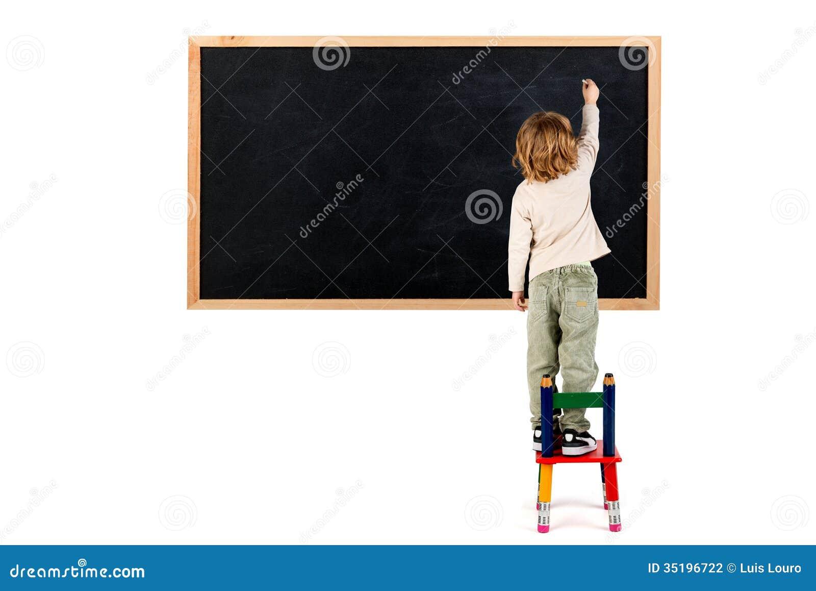 Boy Writing Clip Art