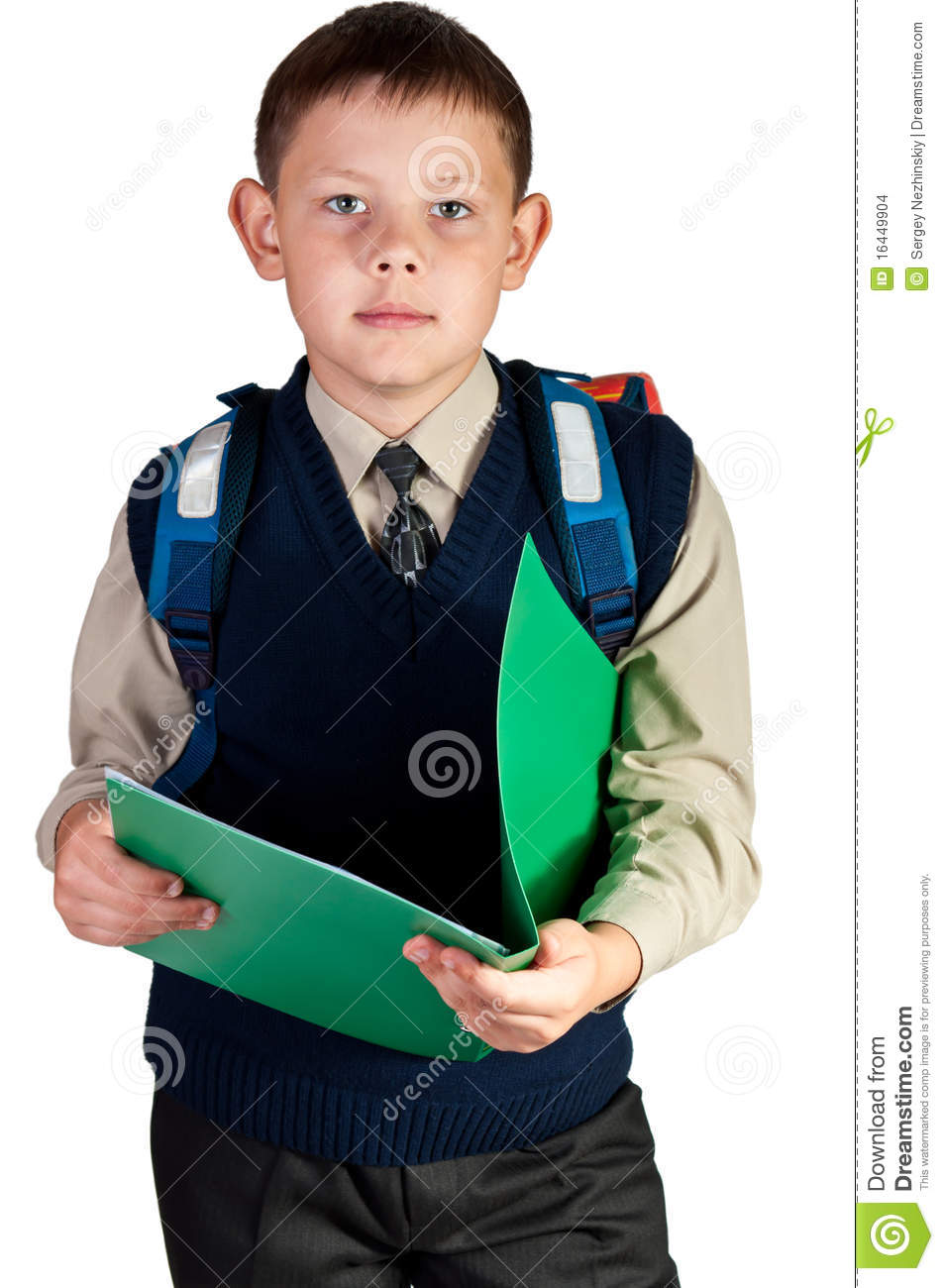 Schoolboy Stock Images - Image: 16449904