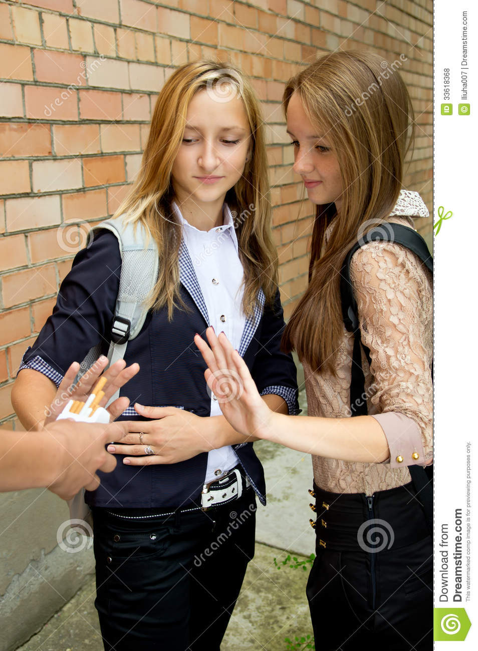 school smoker sexy teen picture