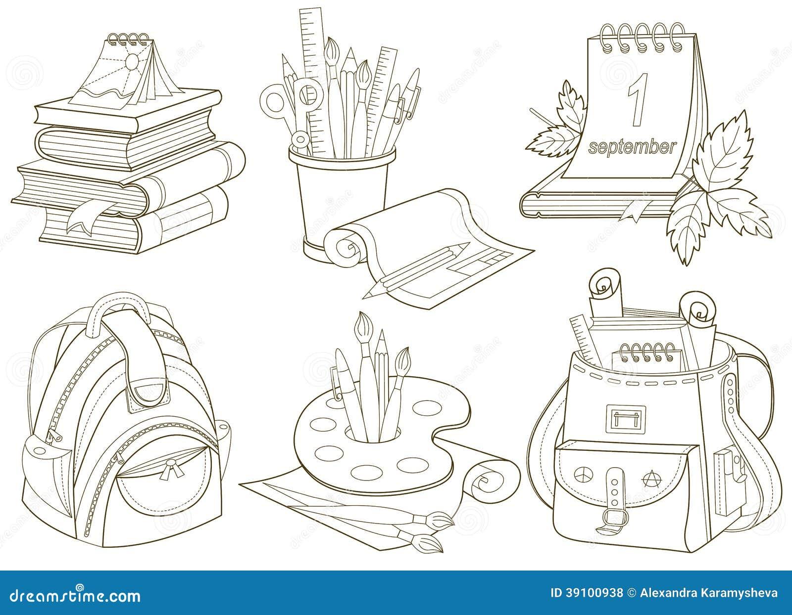 Schoolpictogrammen