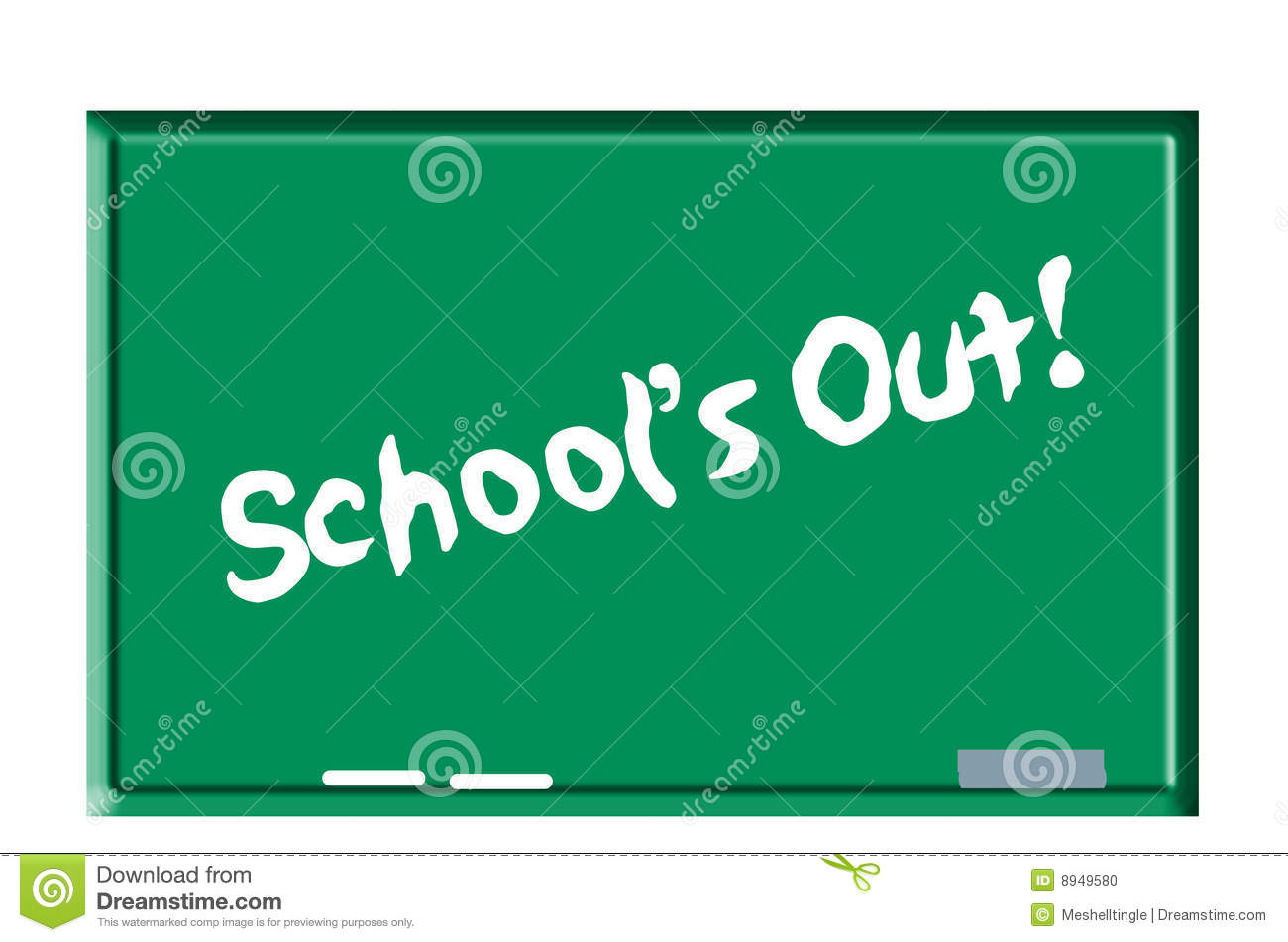 Schools Out, End Of Term Stock Vector - Image: 62916494