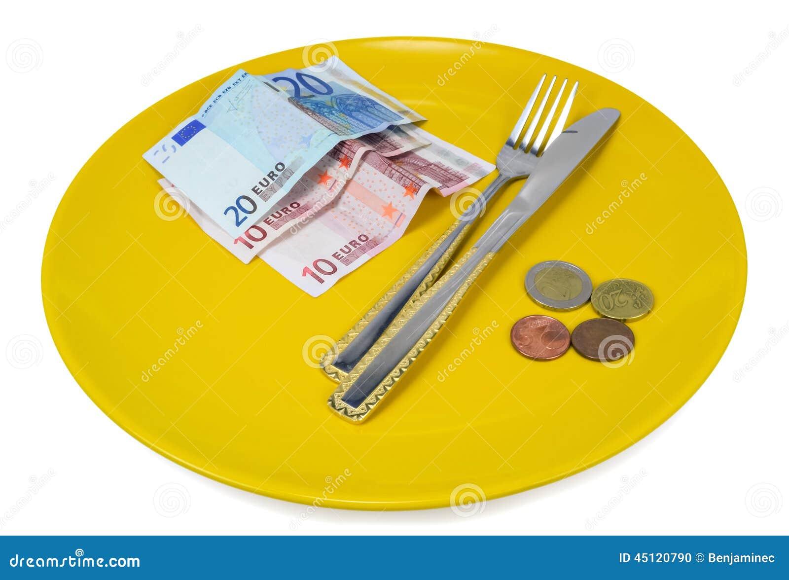 Schotel geld
