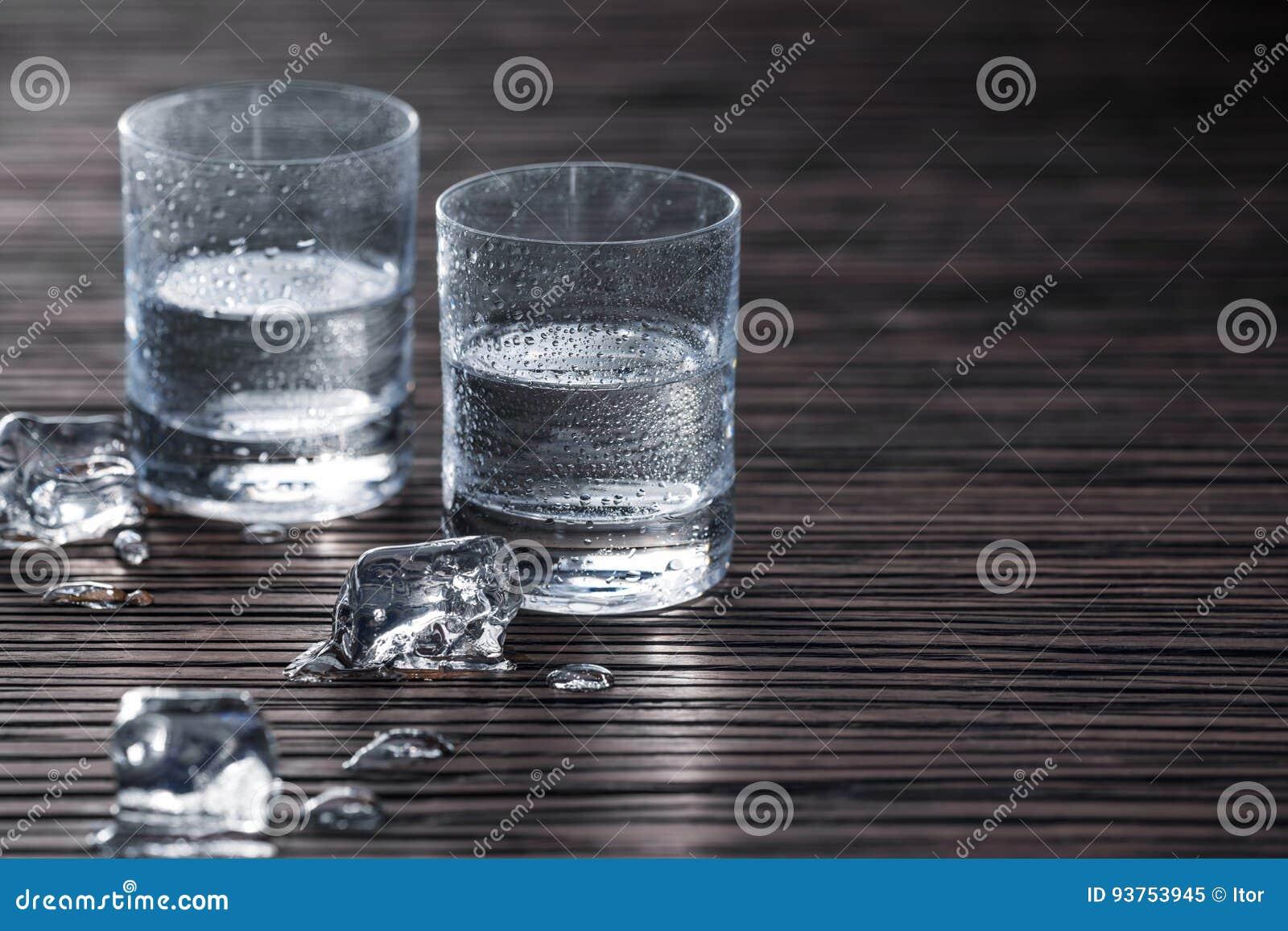 Schoten van wodka