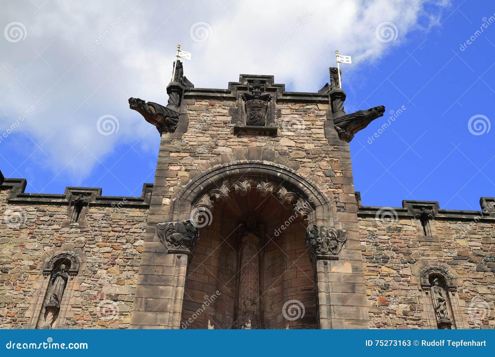 Schots Nationaal Oorlogsgedenkteken in het Kasteel van Edinburgh