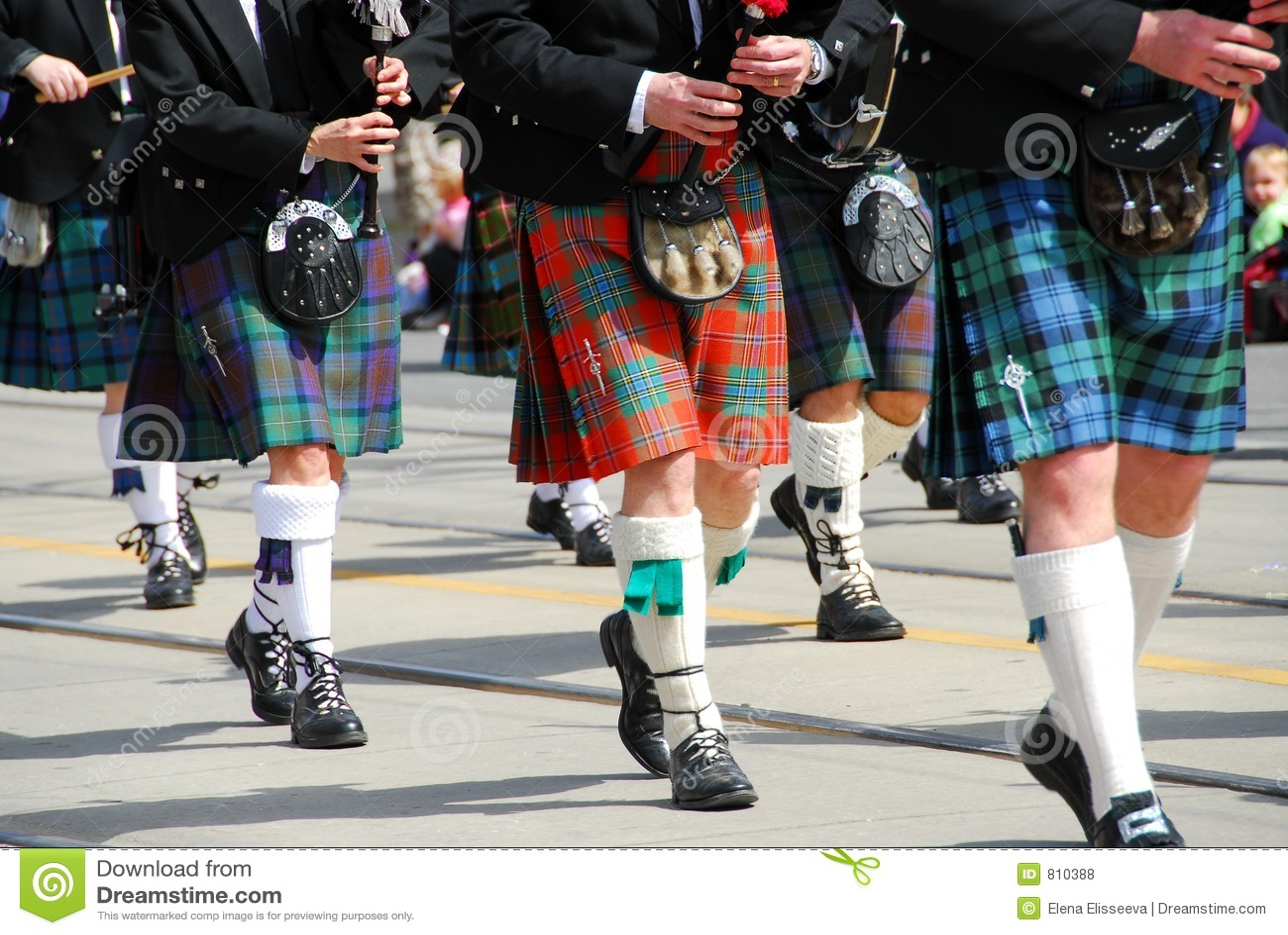 Schotse het marcheren band