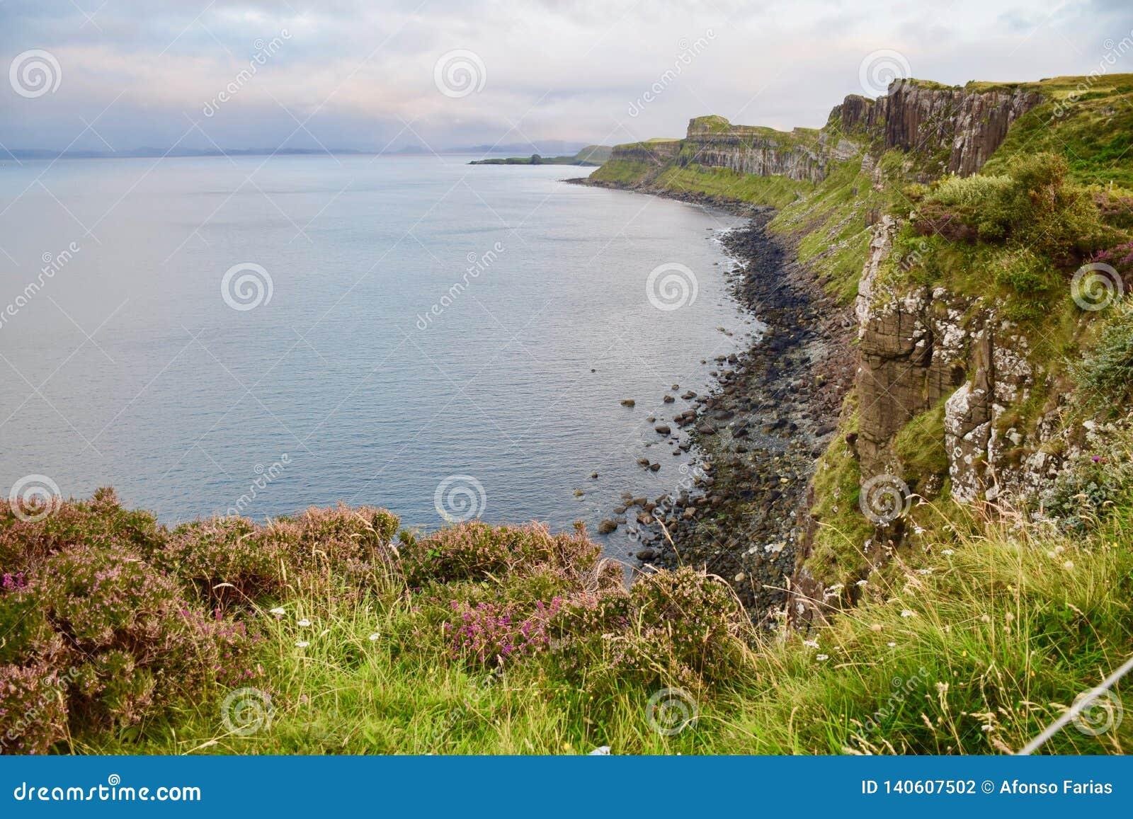 Schotse Hooglanden, het Eiland van Skye, Schotland