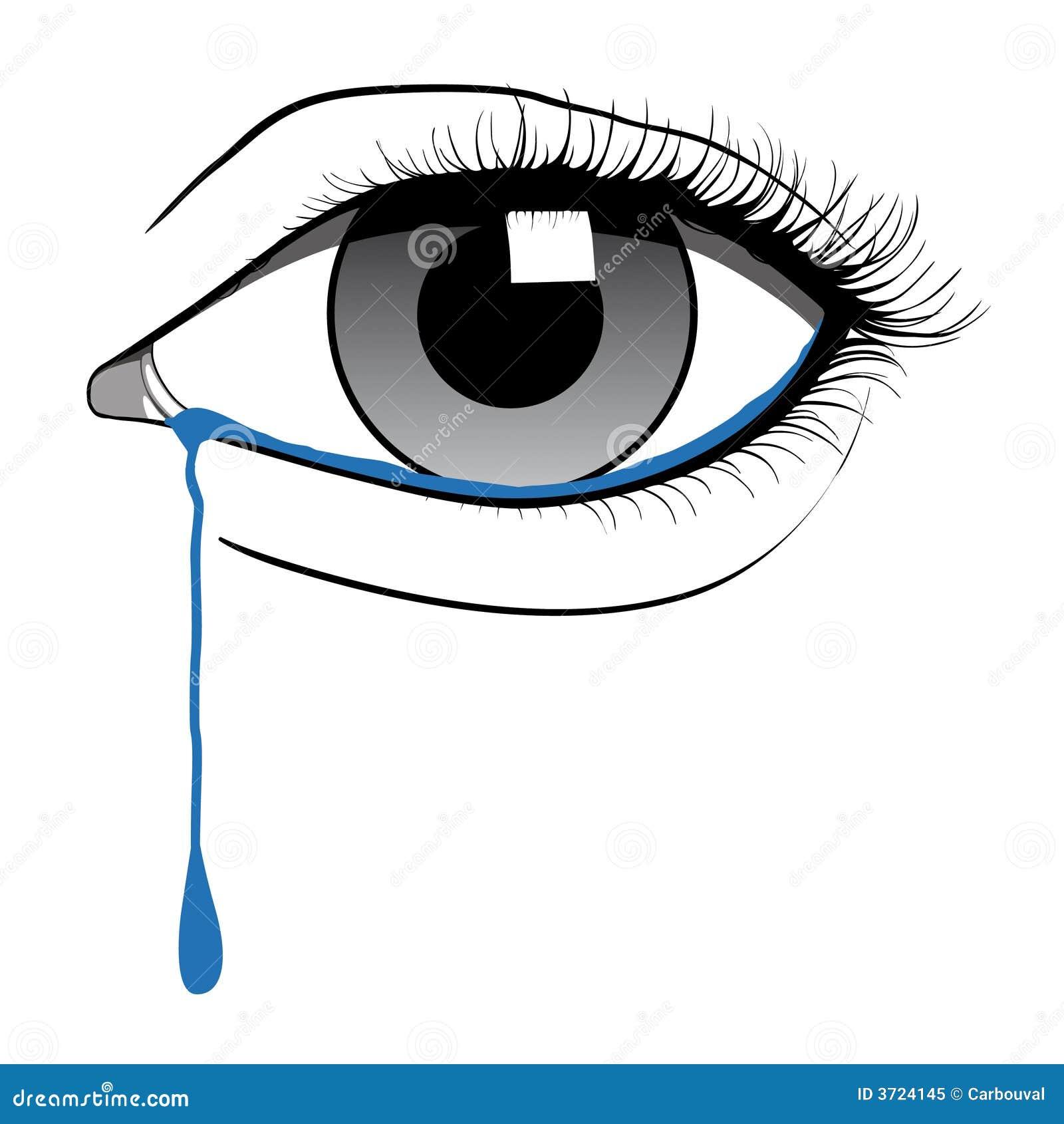 Schreeuwend oog