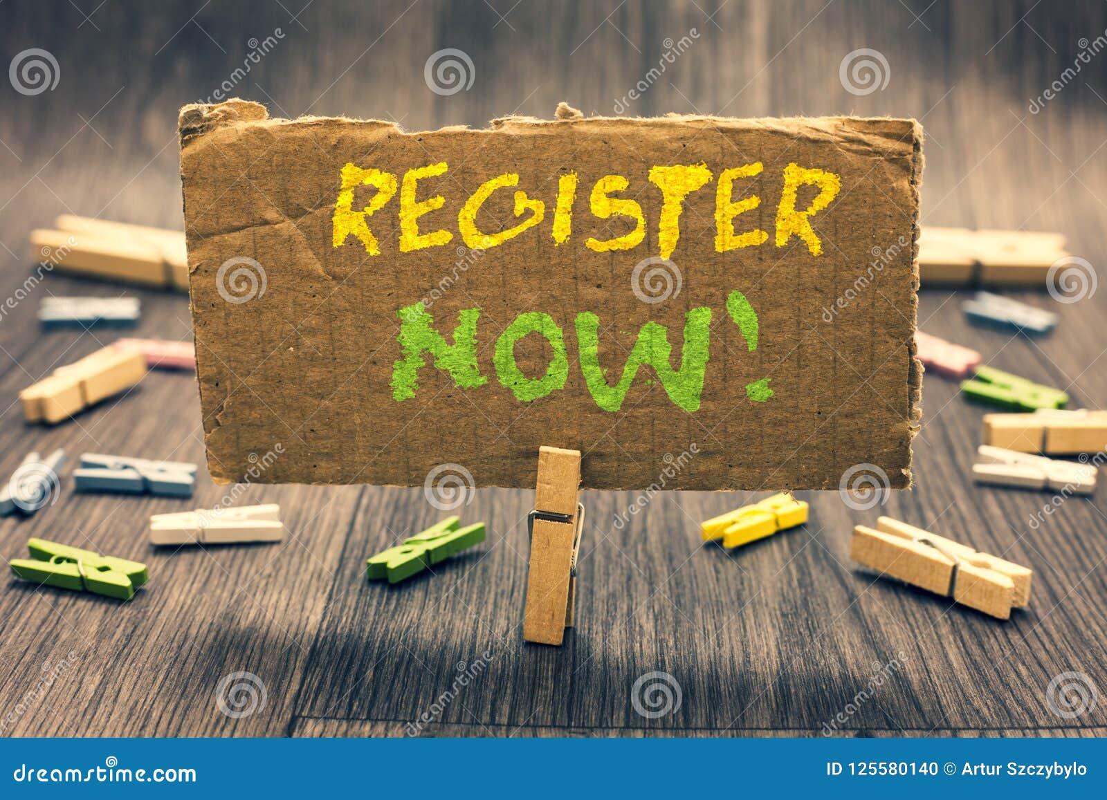 Schreibensanmerkungs-Vertretung Register jetzt Geschäftsfoto Präsentationsname in einer amtlichen Börsennotierung tragen ein, um