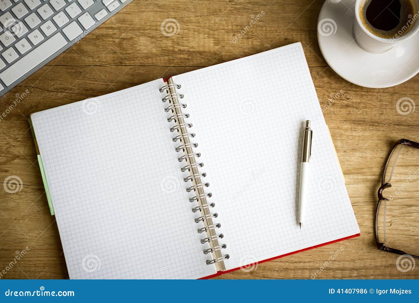 Schreibtisch oben stockfoto bild 41407986 for Schreibtisch von oben
