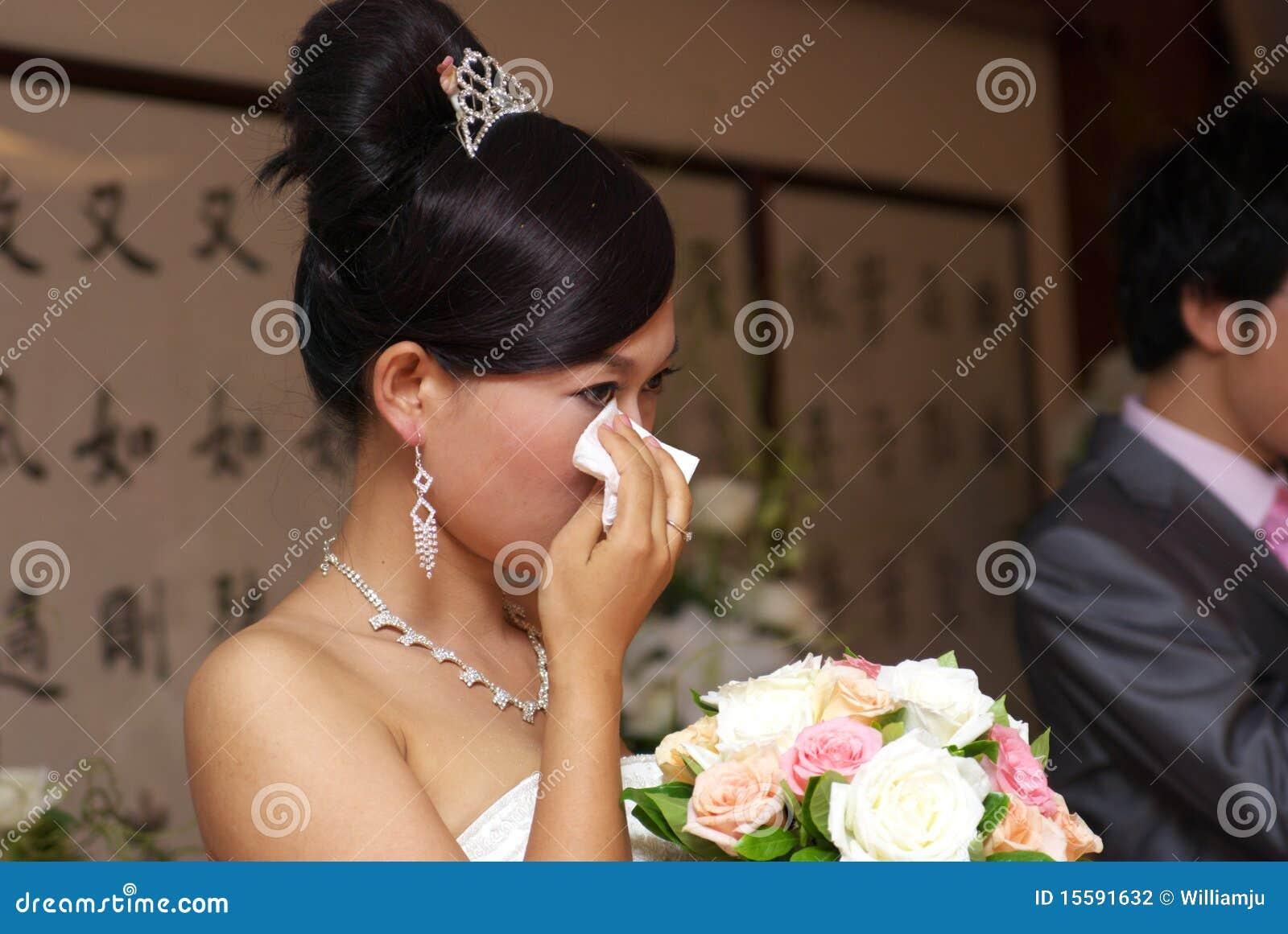 Schreiende Braut