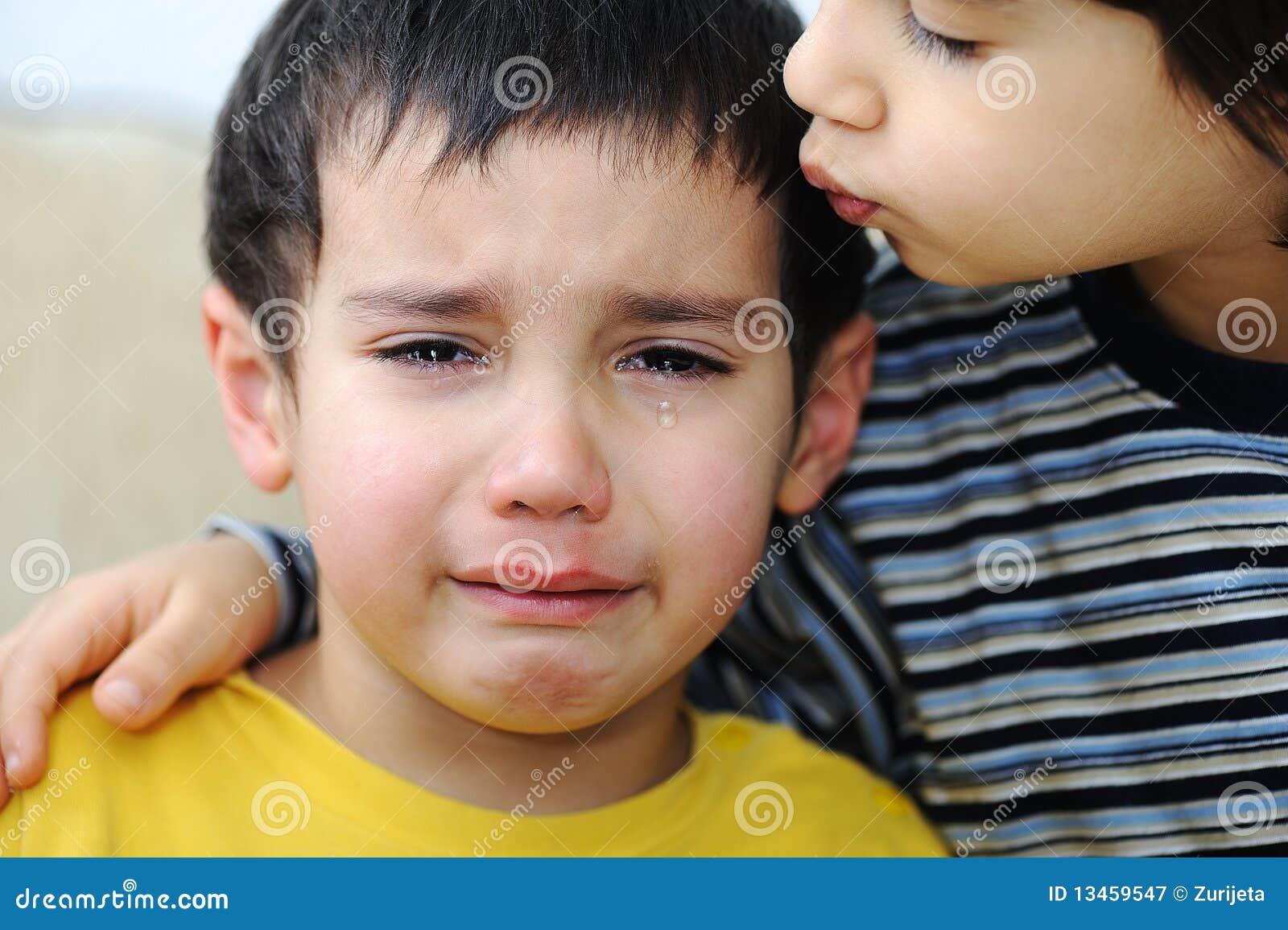 Schreiendes Kind, emotionale Szene
