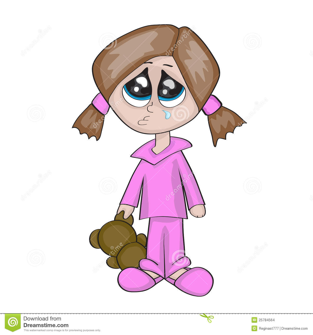 Sad Girl Cartoon - Only Good Pictures