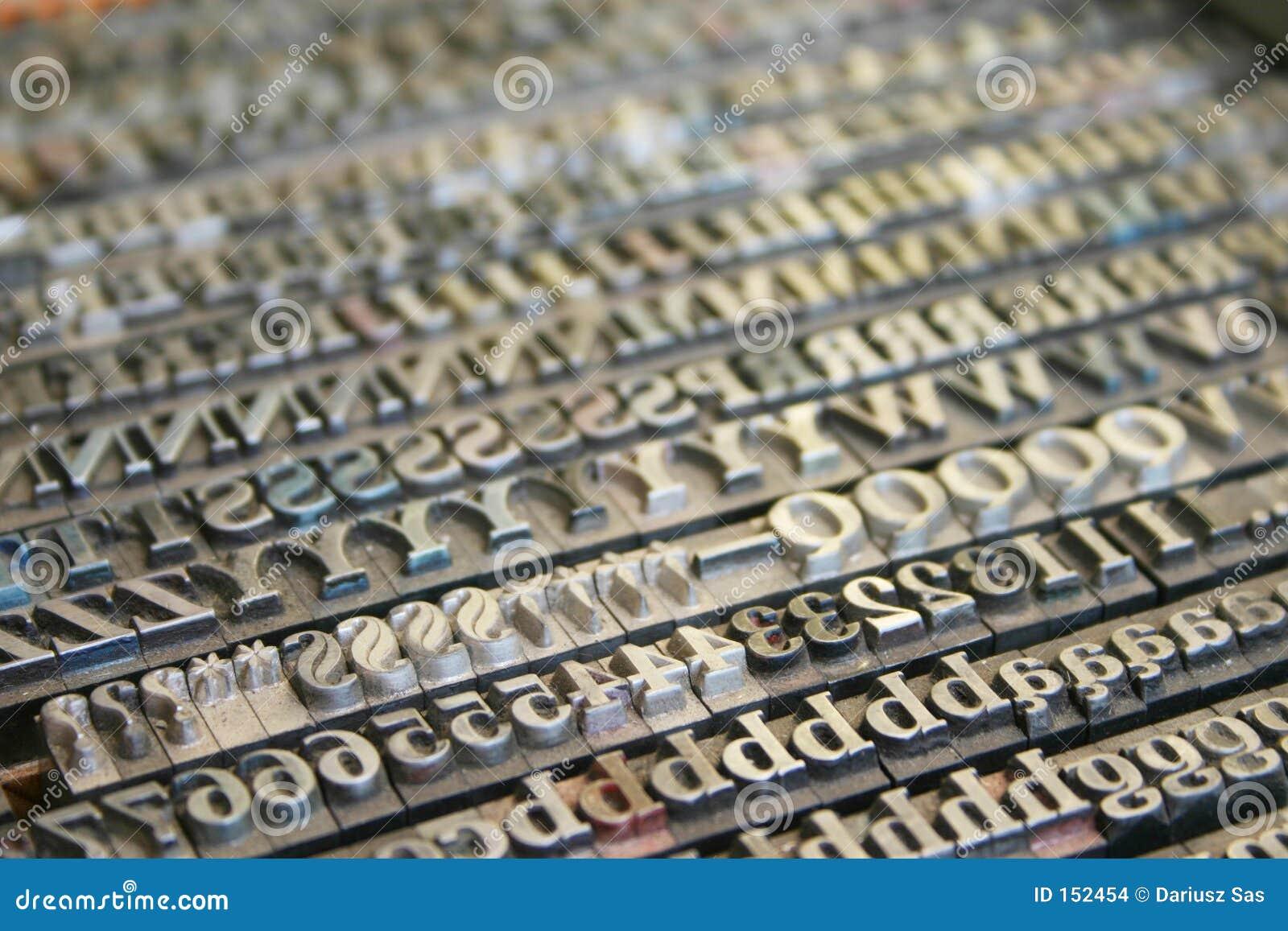 Schrifttypen