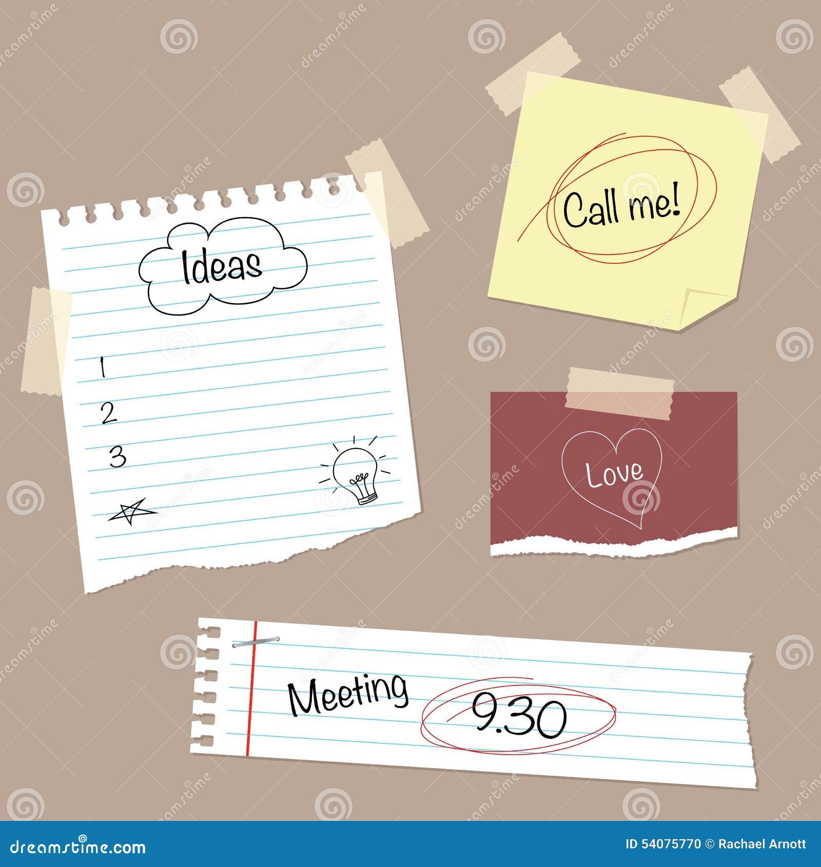 Schrijfpapier & Krabbels