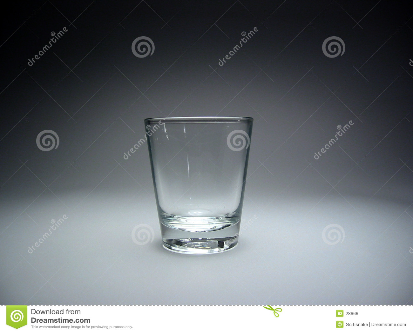 Schußglas