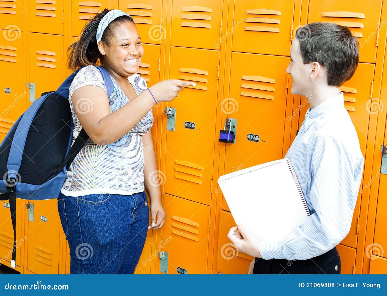 Jungs flirten schule