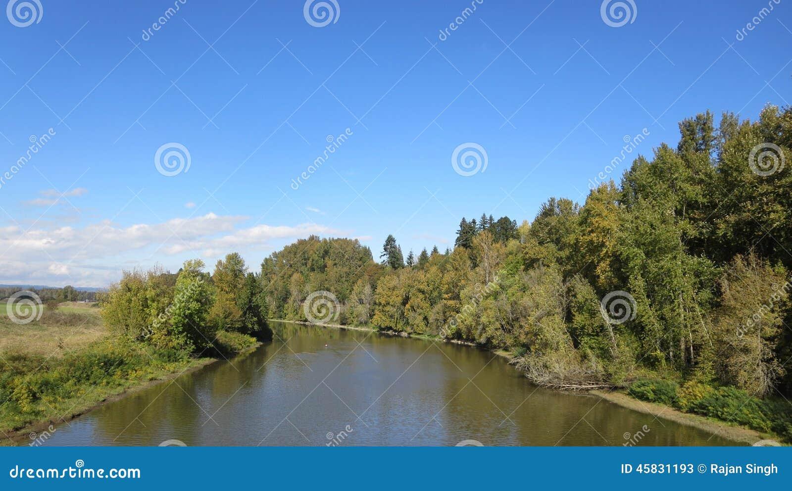 Schutzgebiet-Staat Washington Ridgefield nationaler