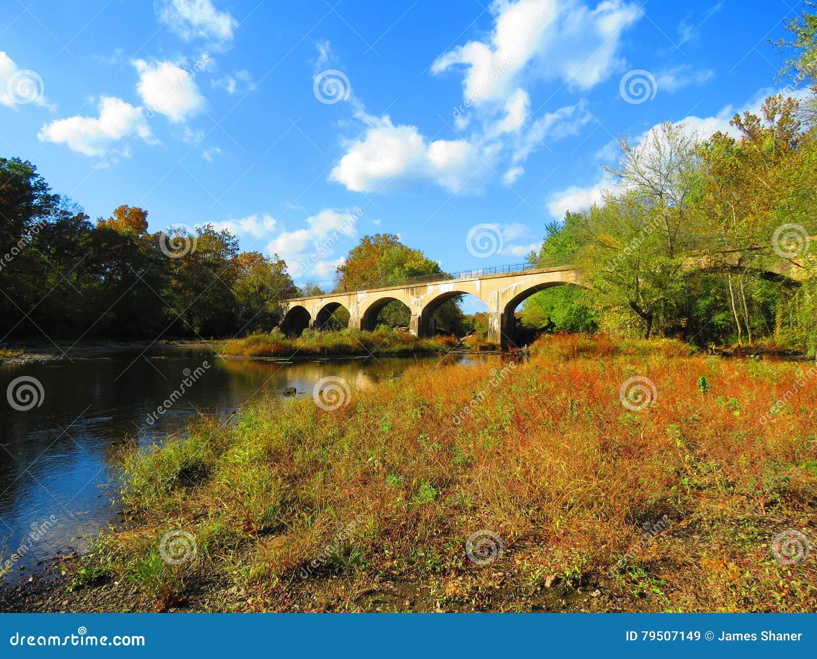 Schuylkill River Trail near Douglassville, Pennsylvania