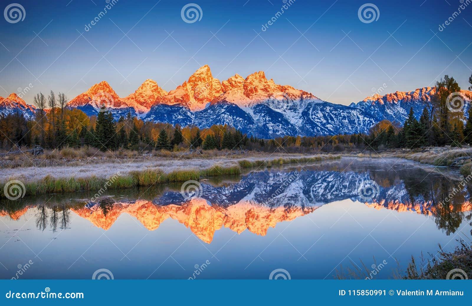 Schwabacher`s Landing, Grand Teton National Park