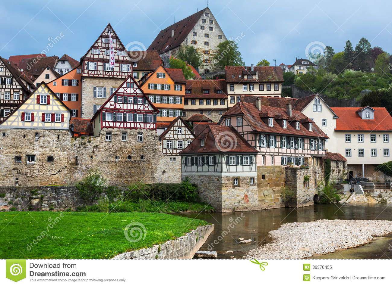 Schwabisch Hall Germany Royalty Free Stock Photo Image