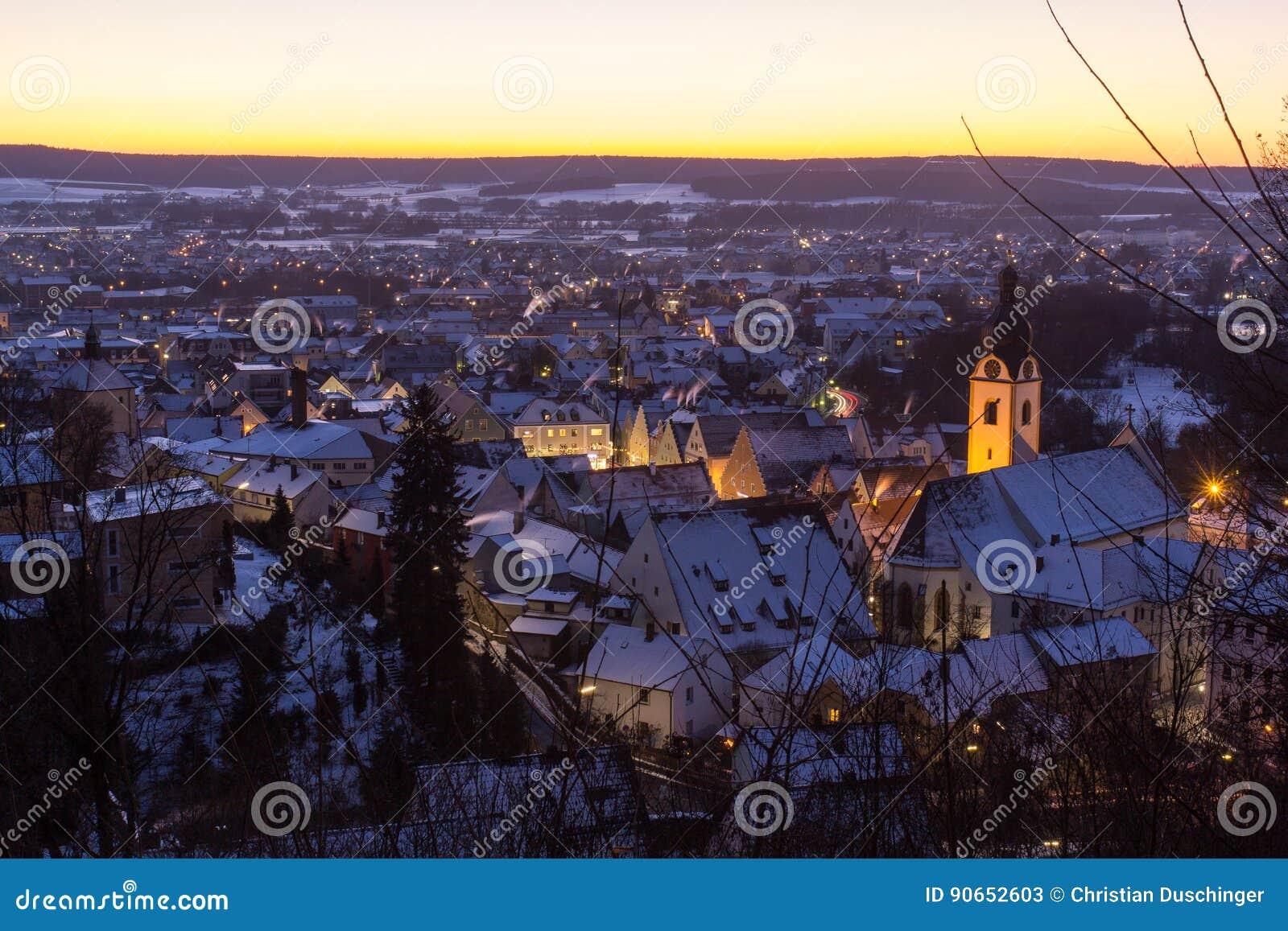 Schwandorf im Winter