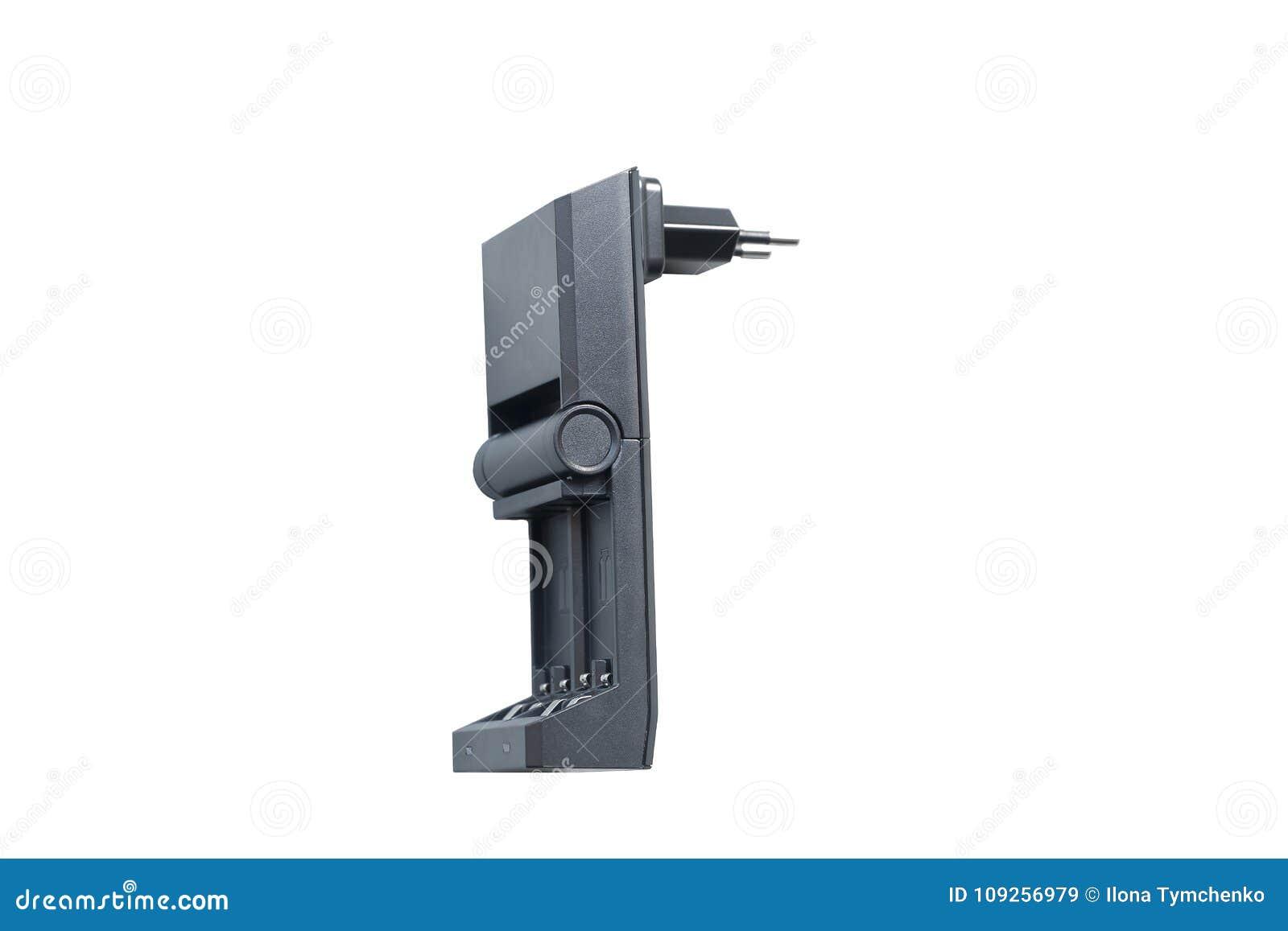 Schwarze Aufladung für die wieder aufladbaren Fingerbatterien lokalisiert