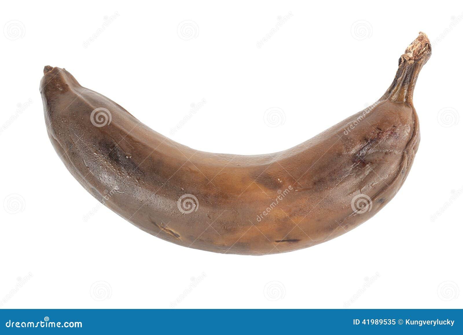 Schwarze Banane