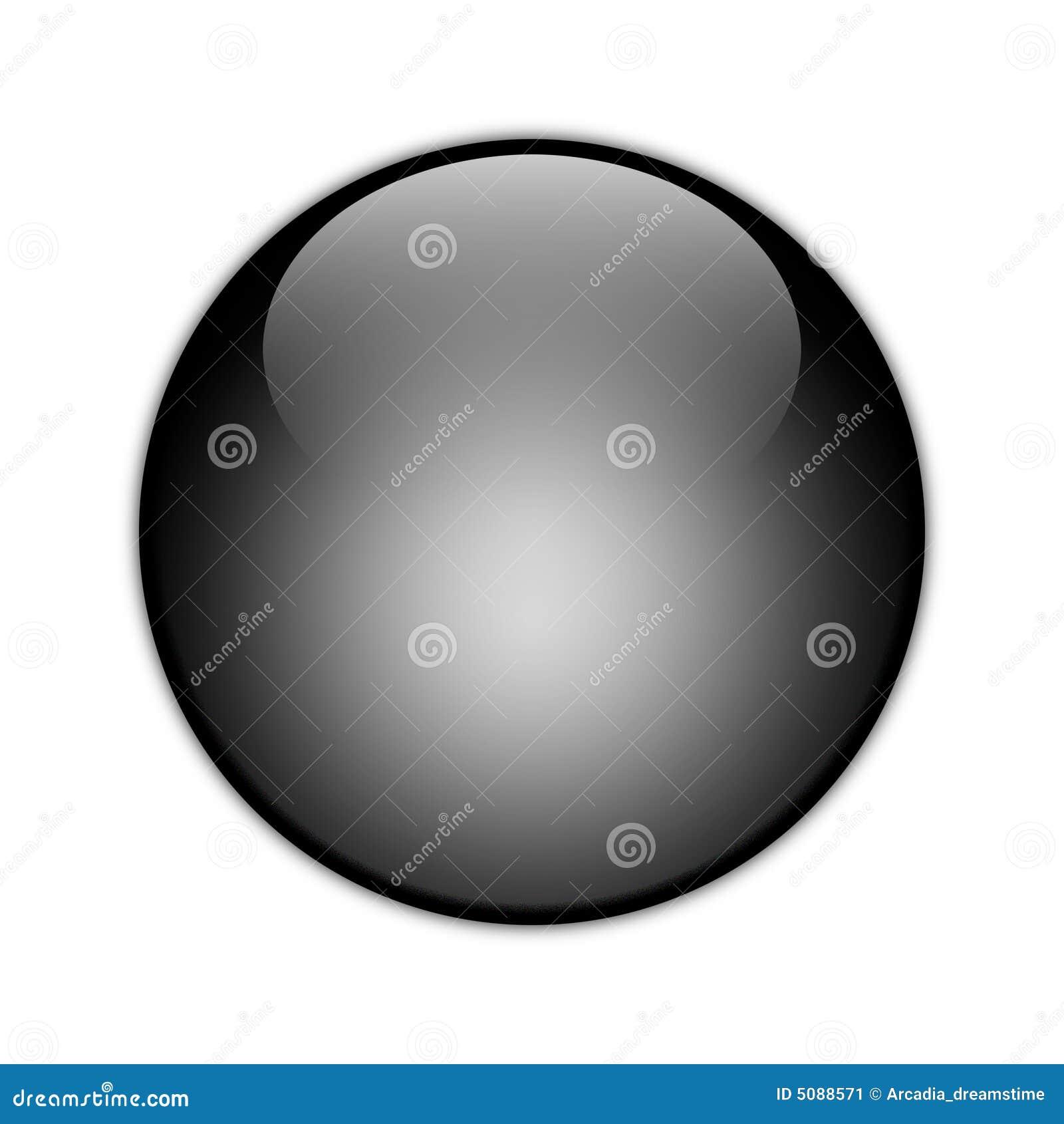 Kugel Schwarze Kugel 01 Stockbild Bild 5088571