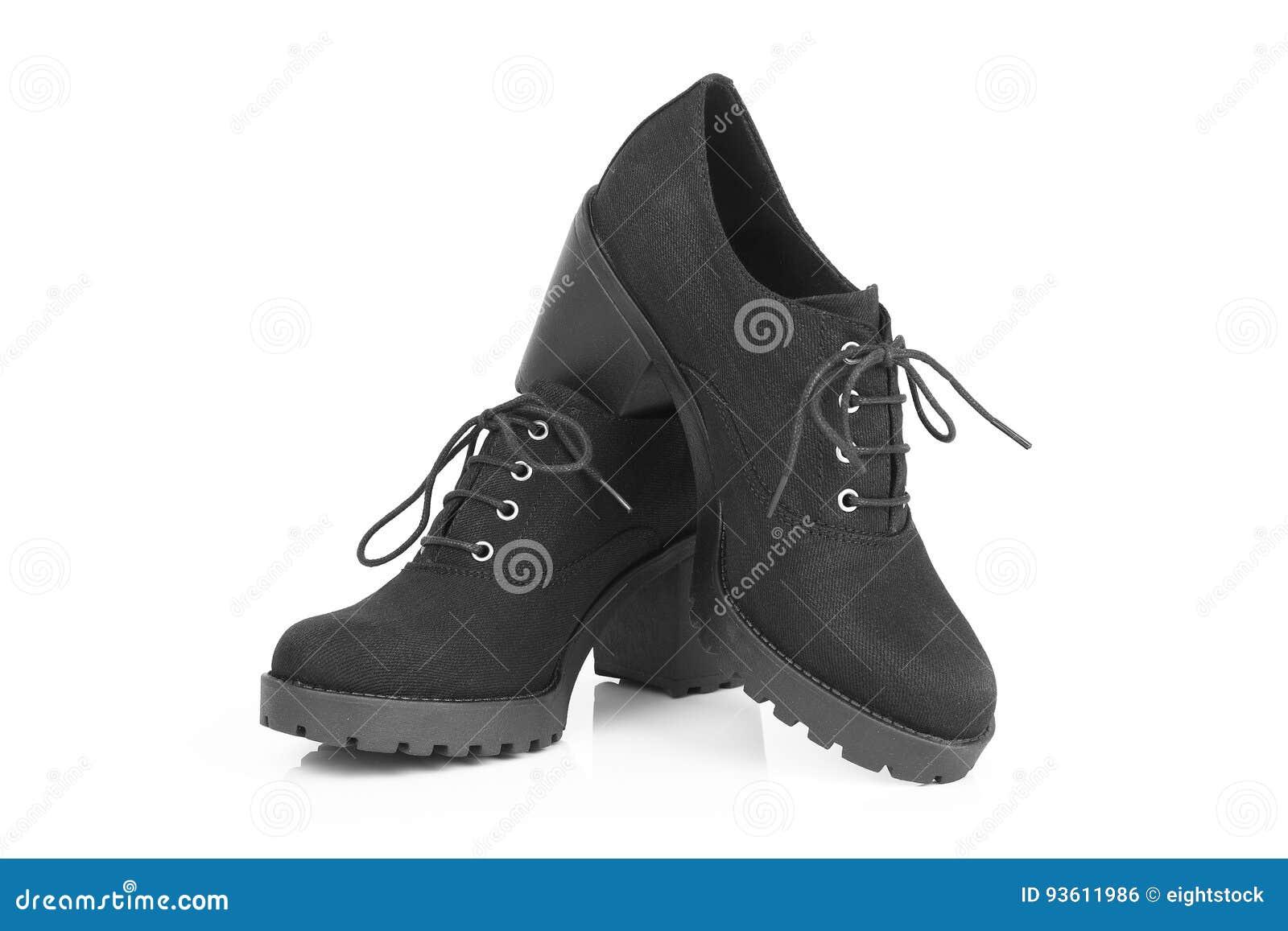 Hohem Absatz Schwarze Bild Auf Stiefel Von Stockfoto 0k8nNPZOwX