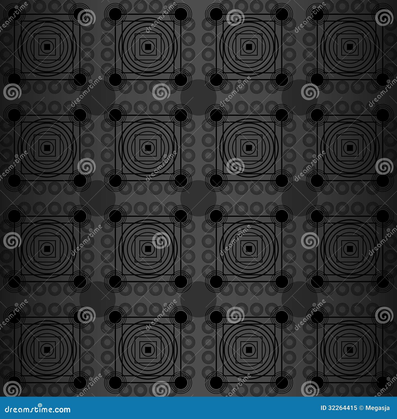 Schwarze Tapete Mit Wei?em Muster : Schwarze Tapete Lizenzfreies Stockfoto – Bild: 32264415