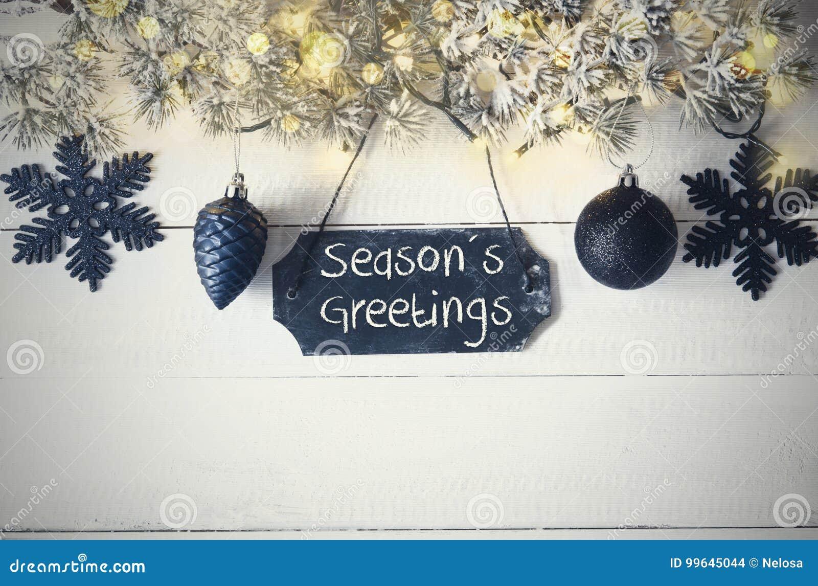 Schwarze Weihnachtsplatte, Feenhaftes Licht, Text Würzt Grüße ...