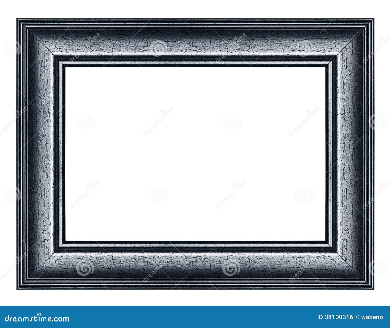 Schwarzer Bilderrahmen stockfoto. Bild von dunkel, einfassen - 38100316