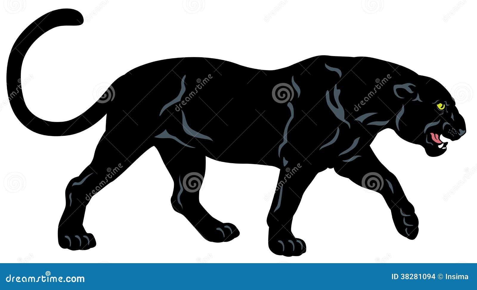 Schwarzer Panther Stockbilder Bild 38281094