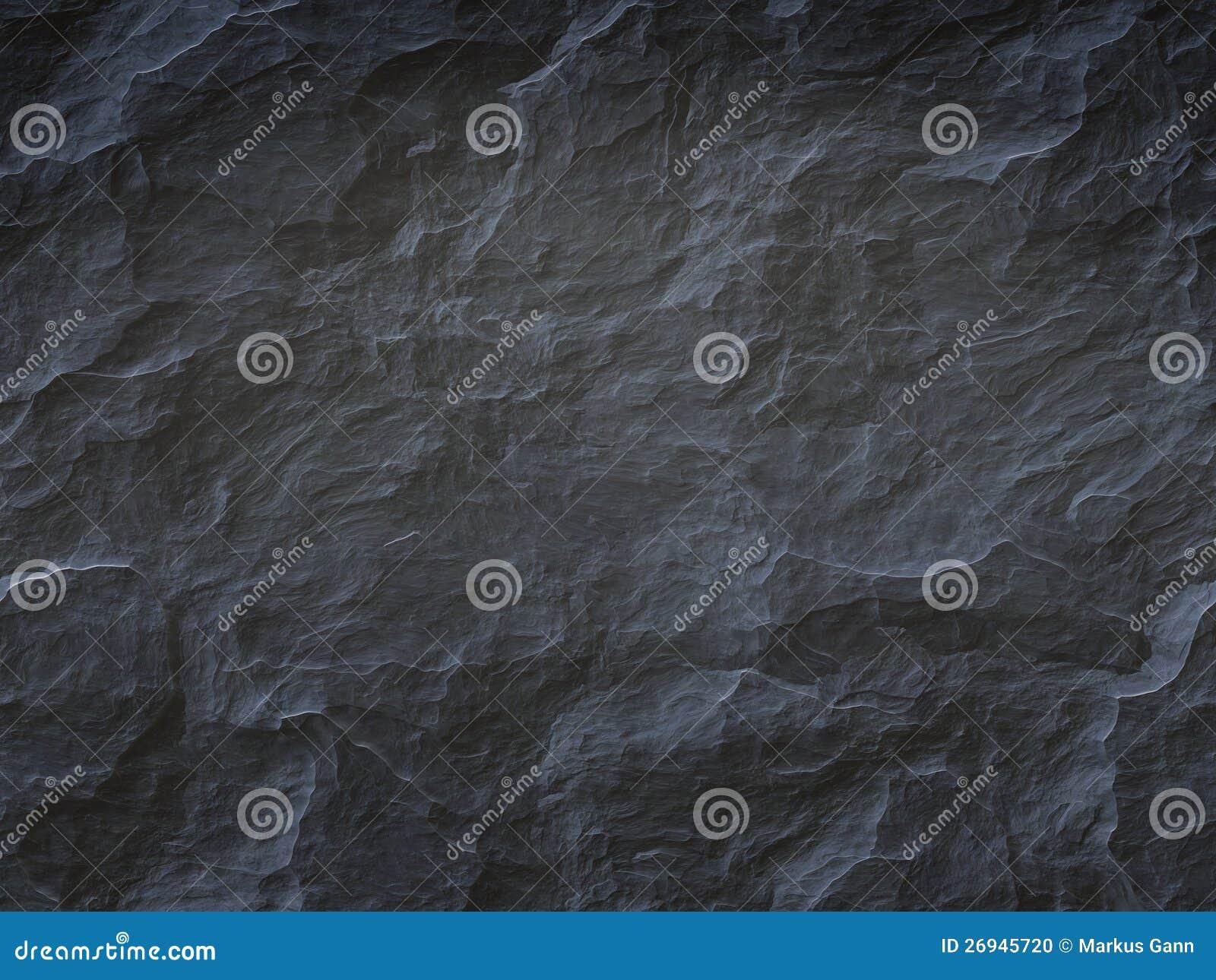 Schwarzer Steinhintergrund