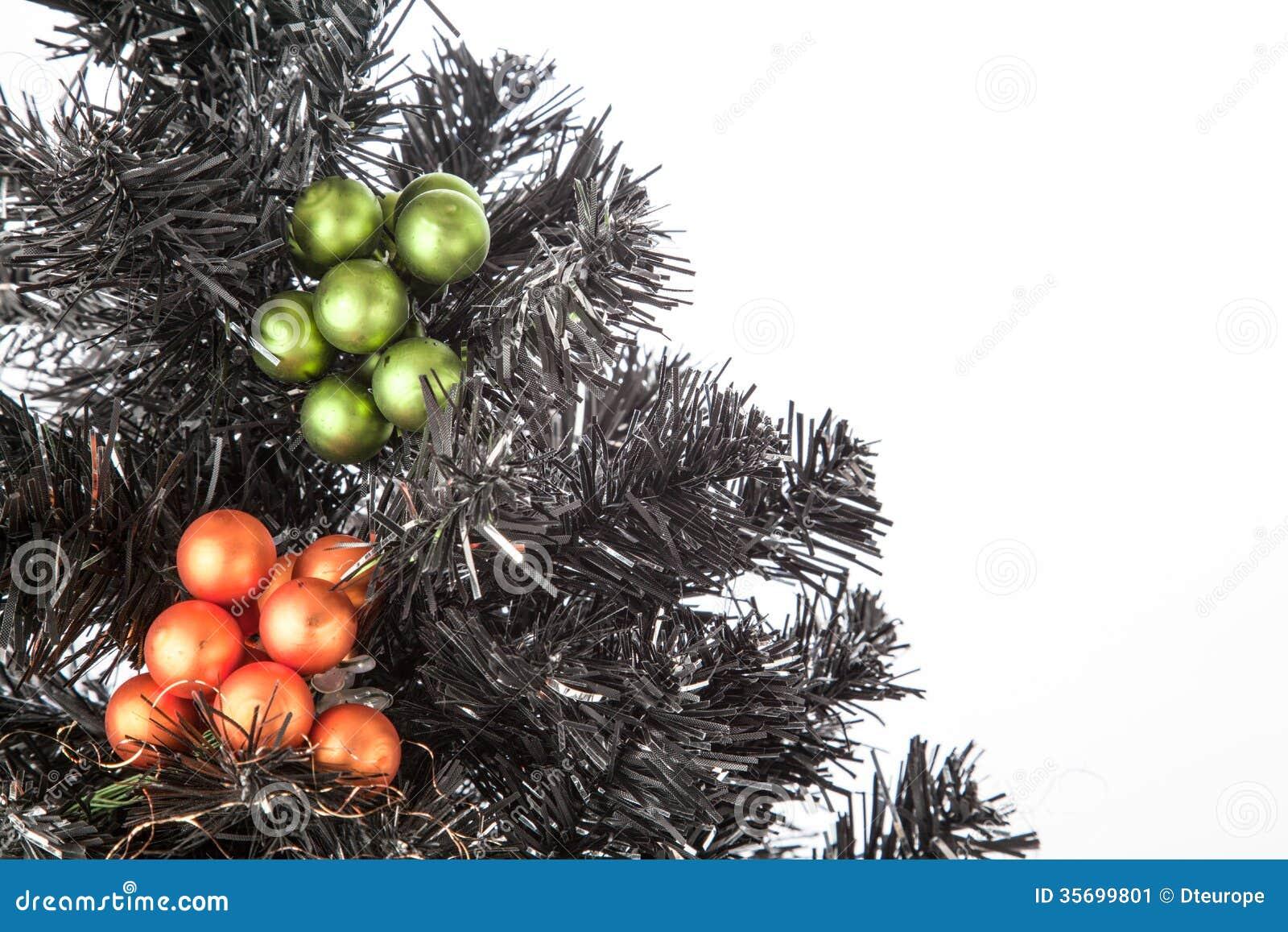 Schwarzer Weihnachtsbaum.Schwarzer Weihnachtsbaum Stockbild Bild Von Betrieb 35699801