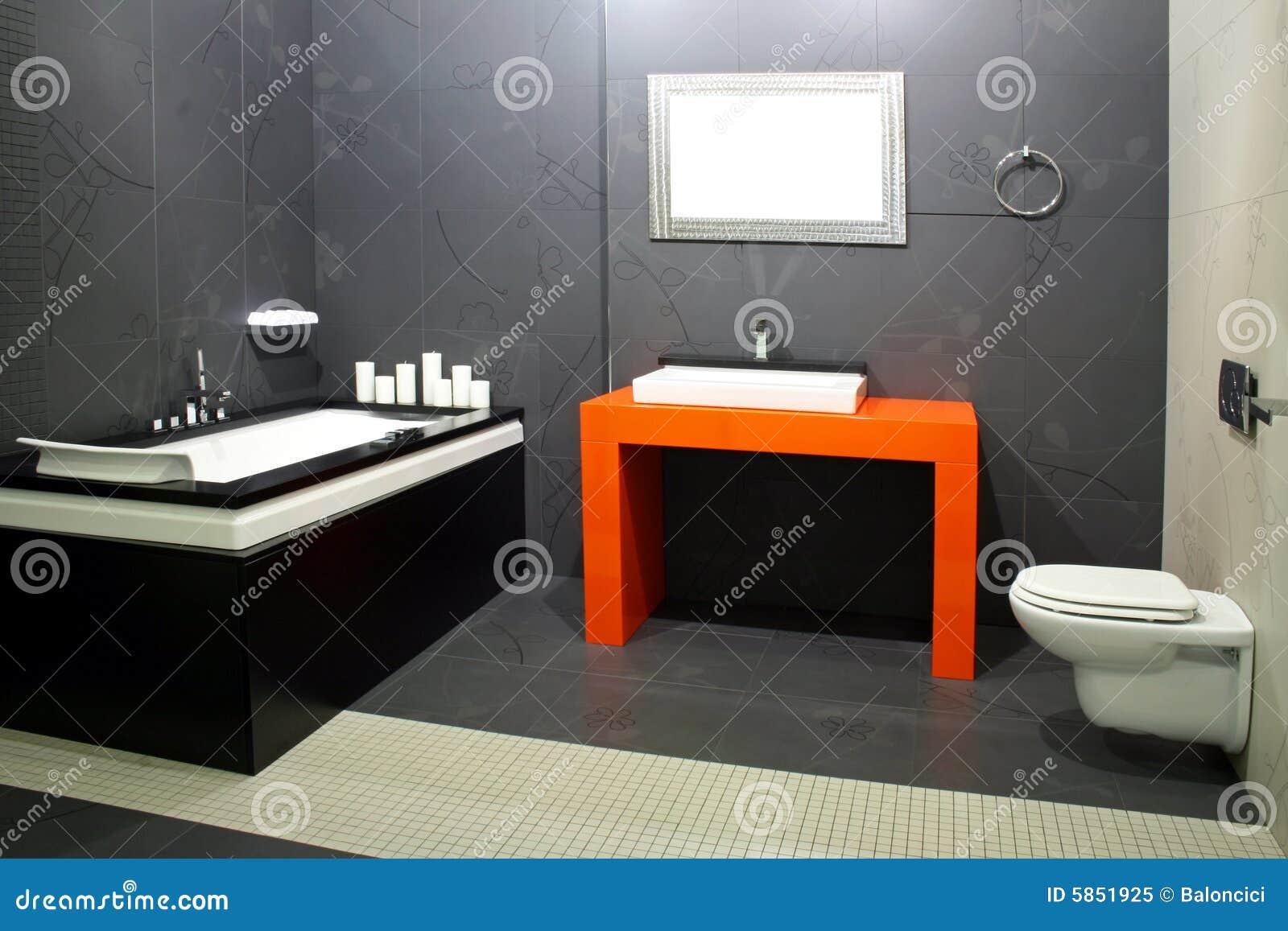 Schwarzes badezimmer 2 lizenzfreies stockfoto bild 5851925 - Schwarzes badezimmer ...