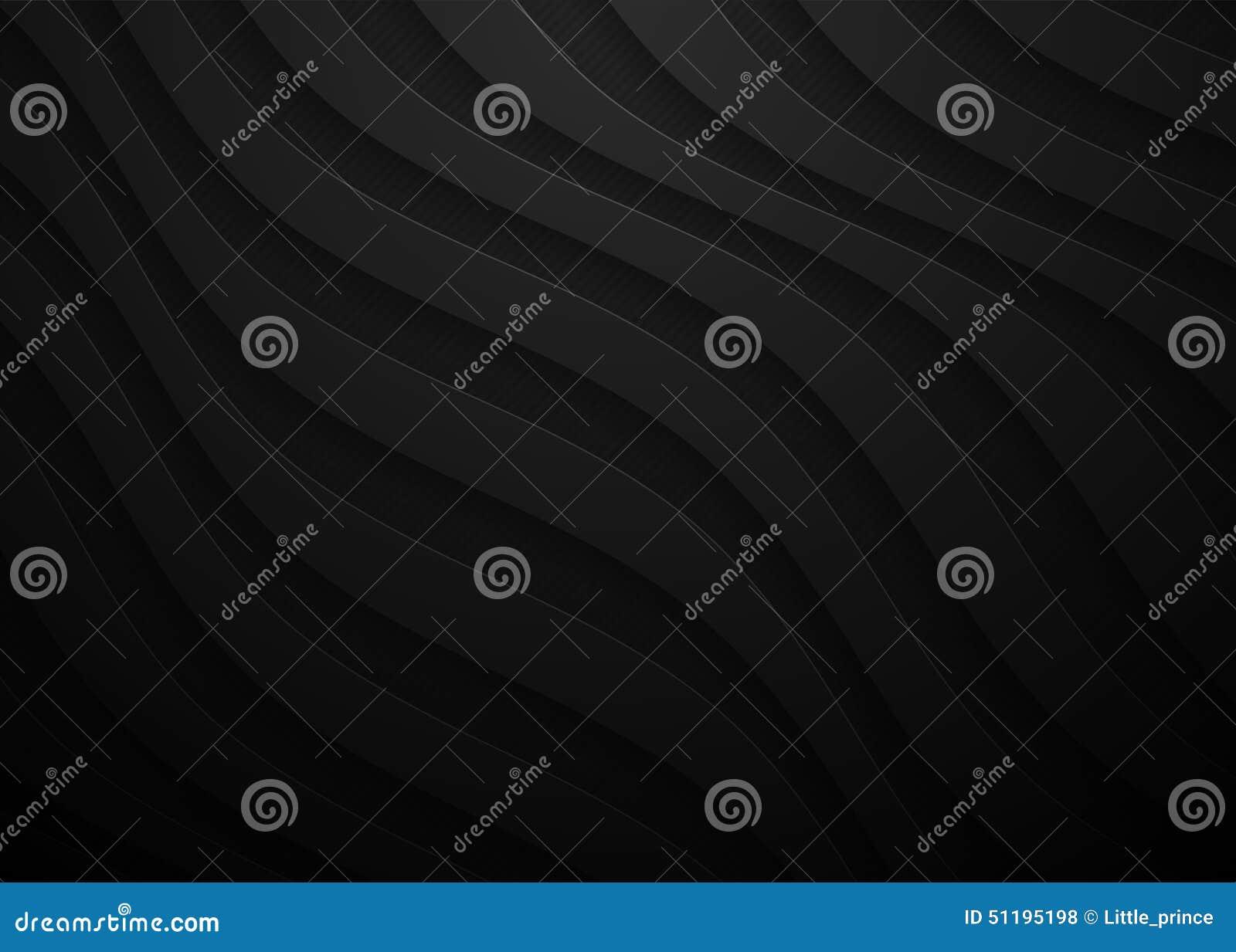 Schwarzes Geometrisches Papiermuster Abstrakte