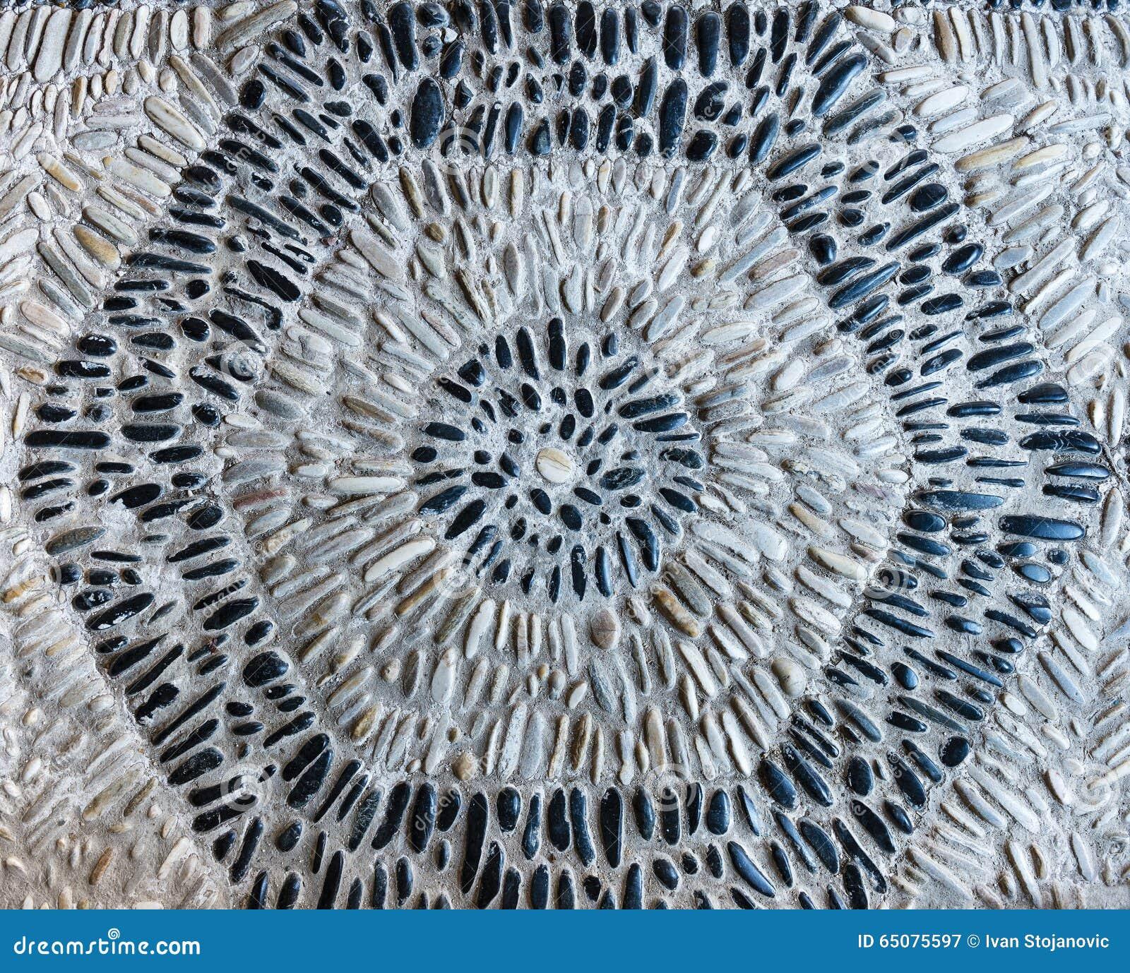 Schwarzweiss büßen Sie Hexagon