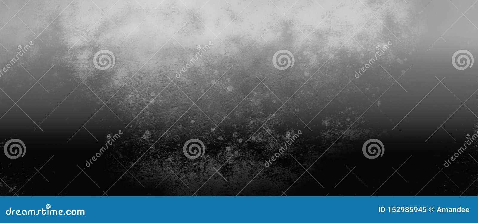 Schwarzweiss-Hintergrund mit silberner grauer rustikaler industrieller Farbe, alte Weinlesemetallbeschaffenheit, Steigung verwisc