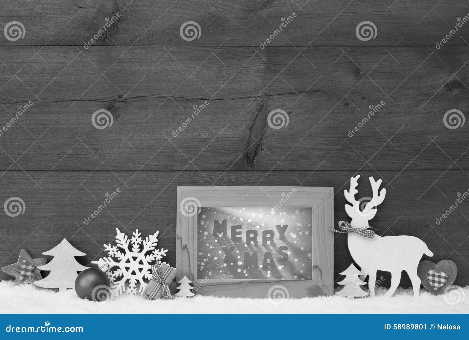 schwarzweiss weihnachtshintergrund schnee rahmen fr hliches weihnachten stockbild bild von. Black Bedroom Furniture Sets. Home Design Ideas