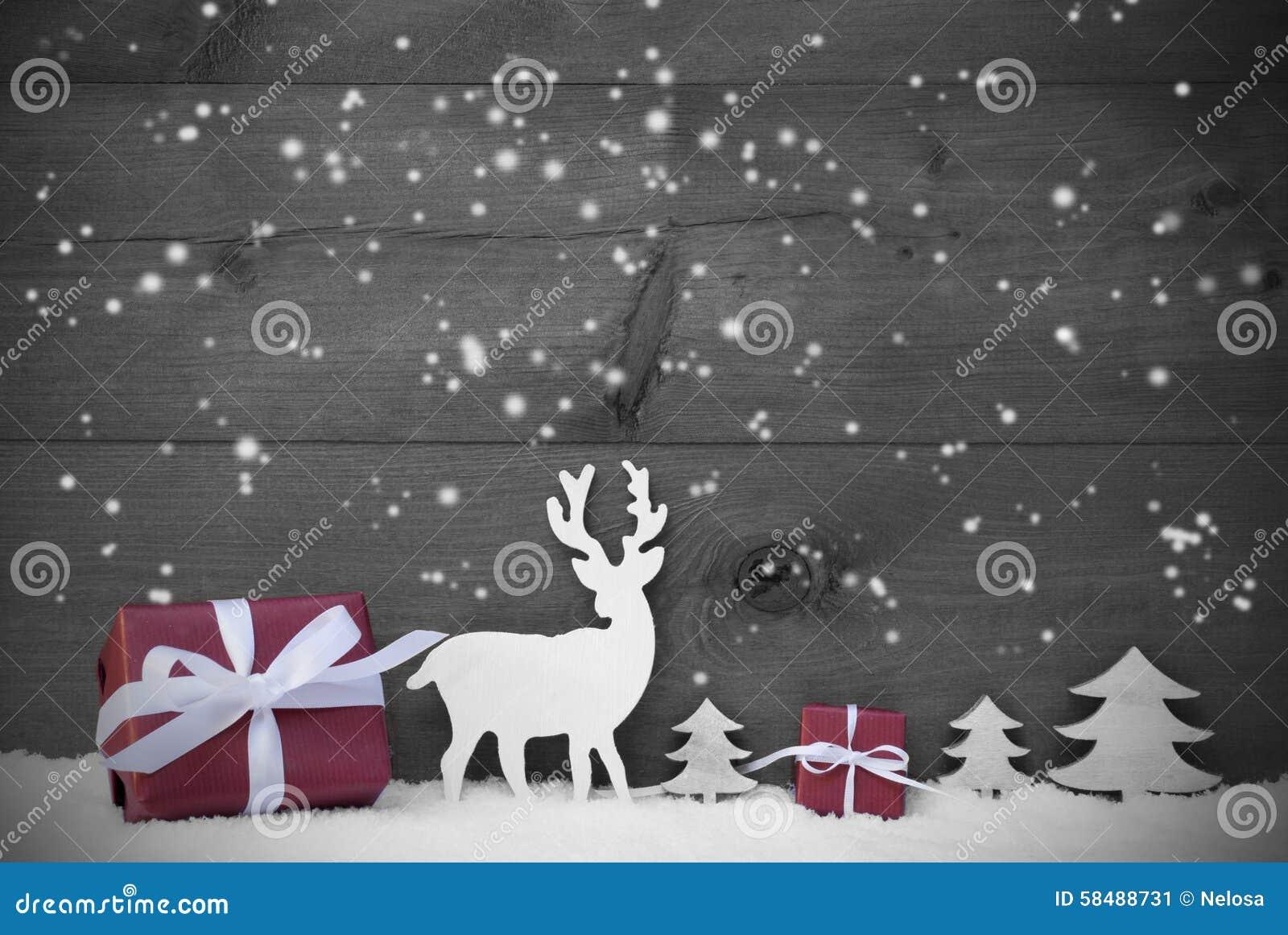 schwarzweiss weihnachtskarten schneeflocken rot geschenk. Black Bedroom Furniture Sets. Home Design Ideas