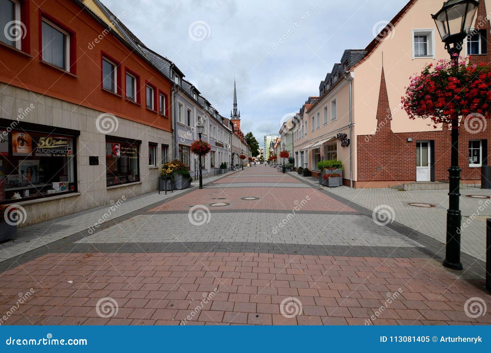 Schwedt en la Alemania Oriental