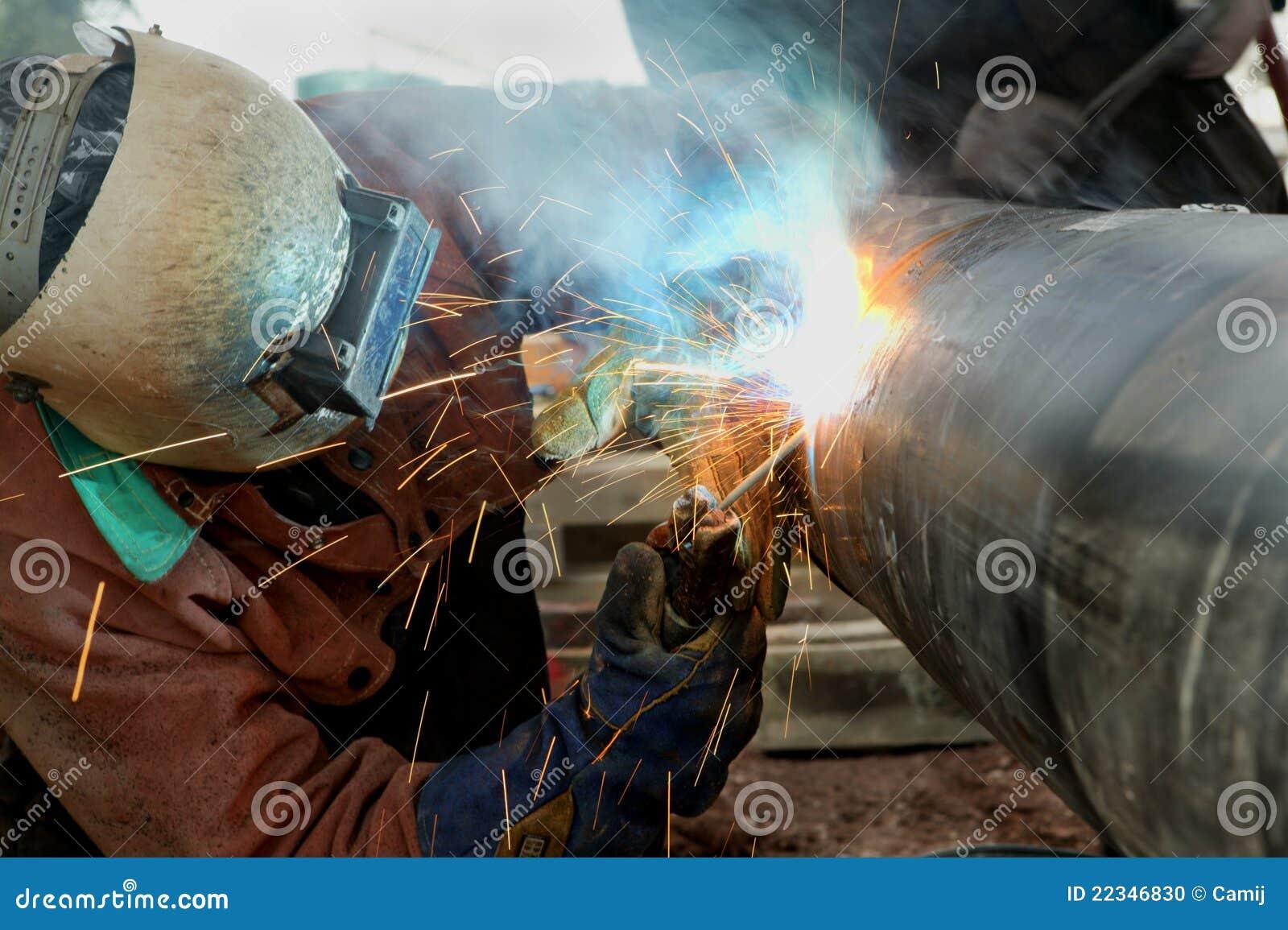 Schweißens-Rohrleitung