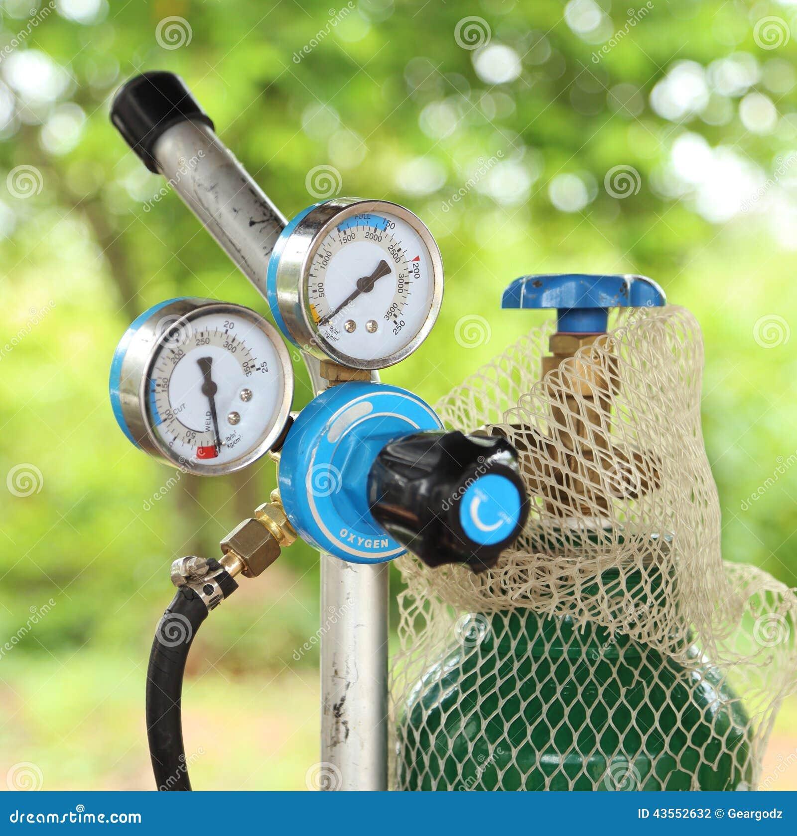 Schweißgaszylindermanometer