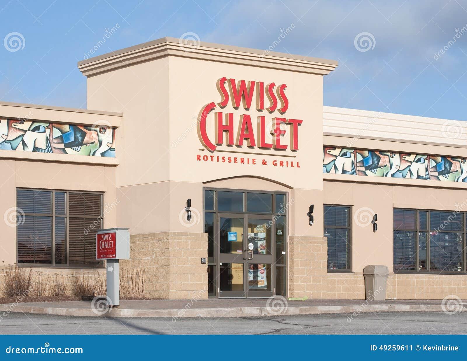 Schweizer Chaletrestaurant