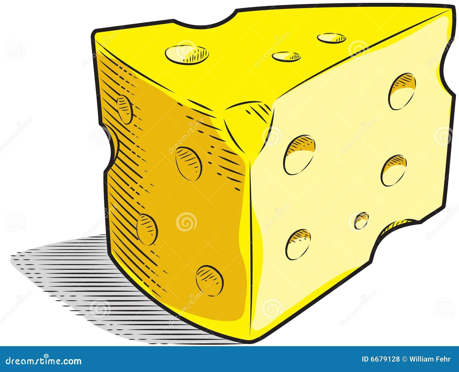 Käse clipart schwarz weiß  Schweizer Käse Lizenzfreie Stockfotos - Bild: 6679128