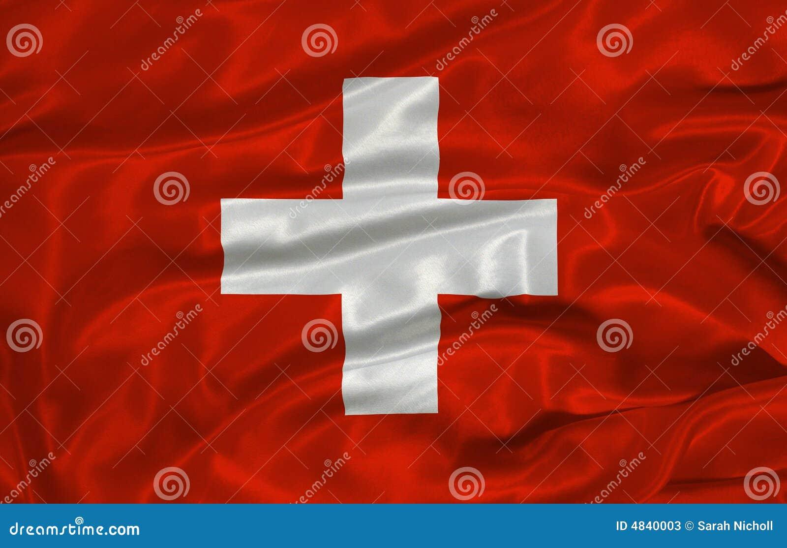 Schweizer Markierungsfahne 3