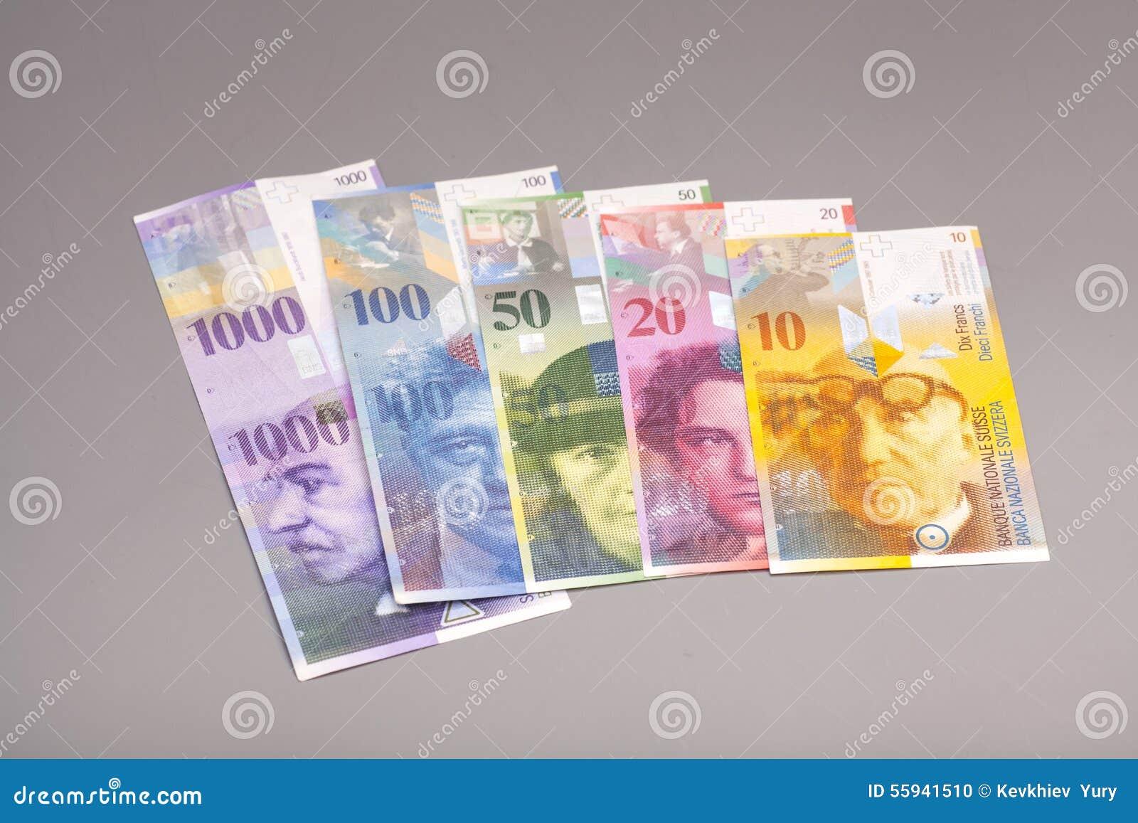 Schweizisk franc valuta av Schweiz