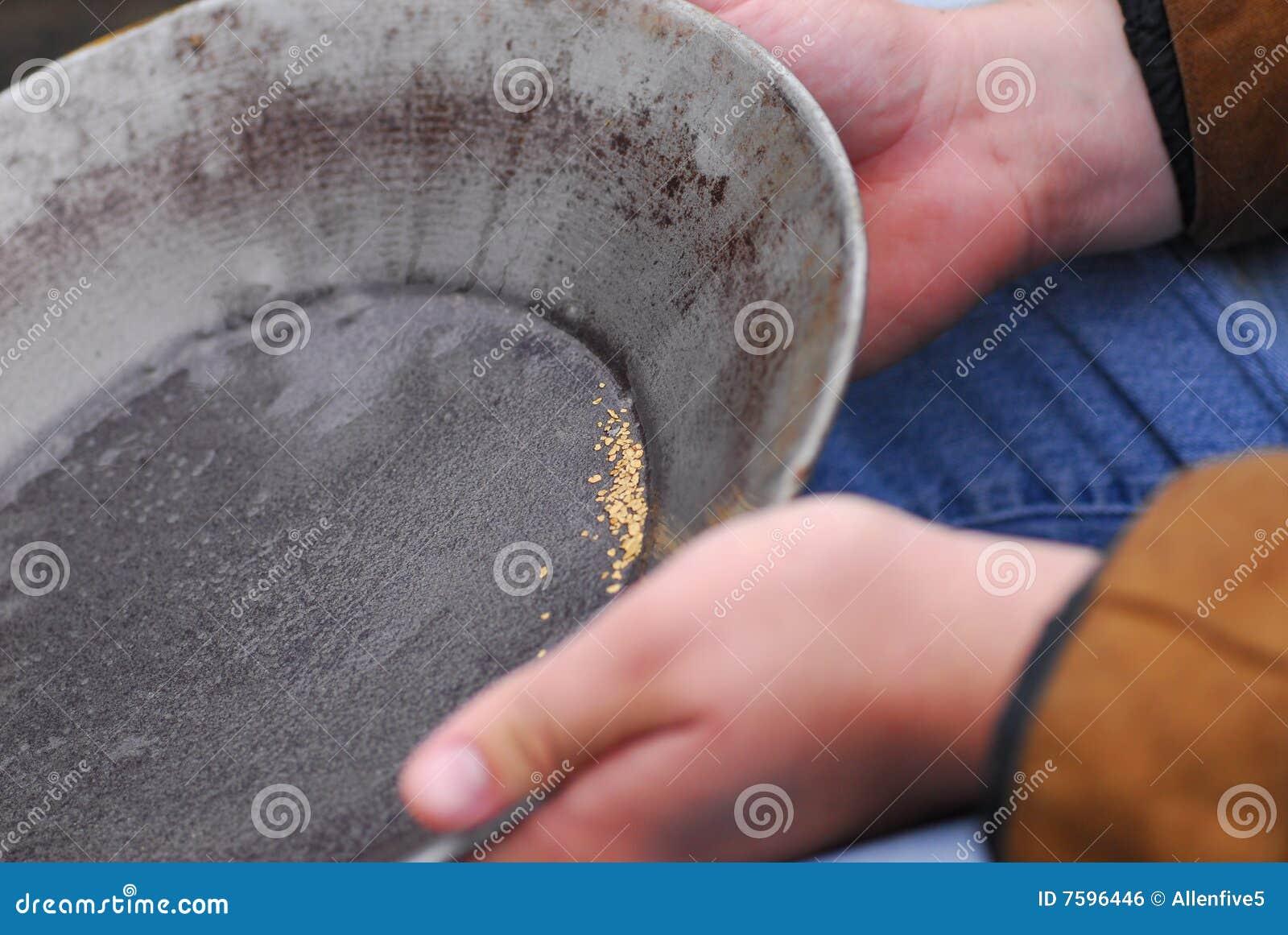 Schwenken für Gold