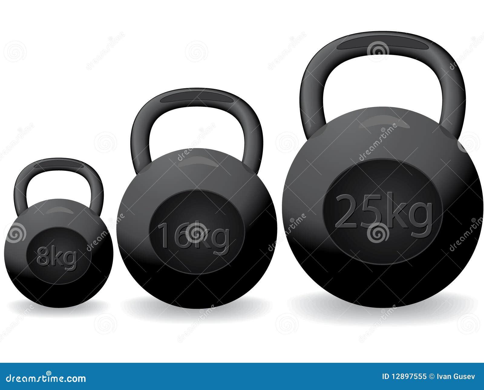Schwere Gewichte Lizenzfreies Stockfoto - Bild: 12897555